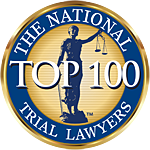 The National Trial Lawyers top 100 seal