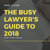 The Busy Lawyer's Guide to 2018