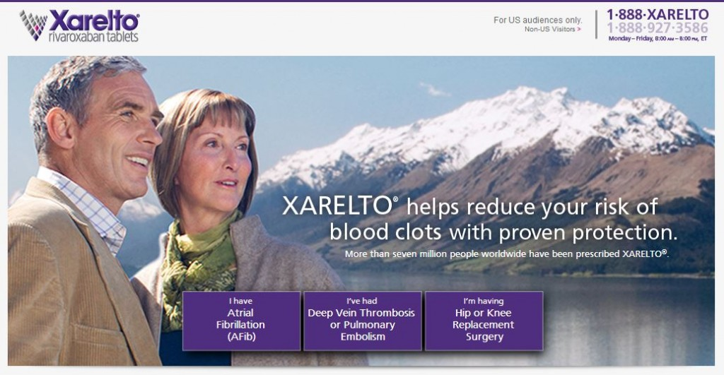 XARELTO as a novel anti-coagulant